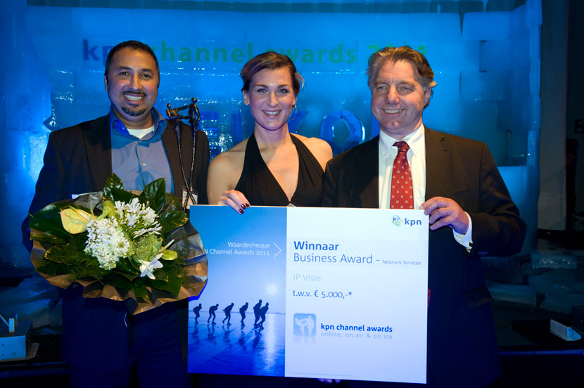 Winnaar KPN business award 2011 IP Visie