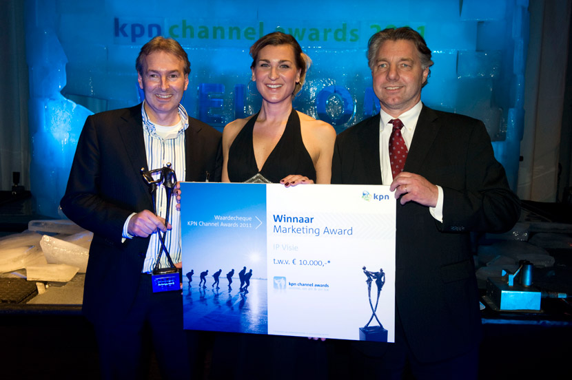 Winnaar KPN marketing 2011 award IP Visie
