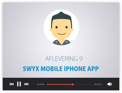 Instructievideo Swyx Mobile App